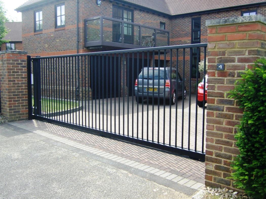 Portail sous traitance industrielle region centre for Aluminum gates for driveways