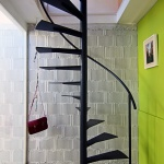 modern-staircase-design-spiral-stair-for-small-paces